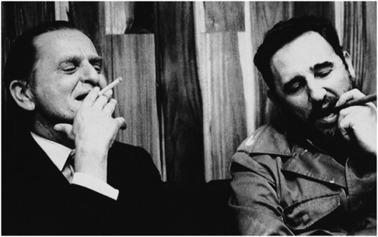 Palme y Fidel