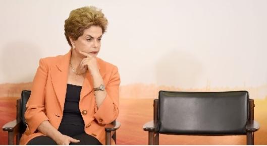 Dilma y silla vacía