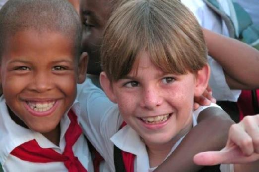 Niños cubanos