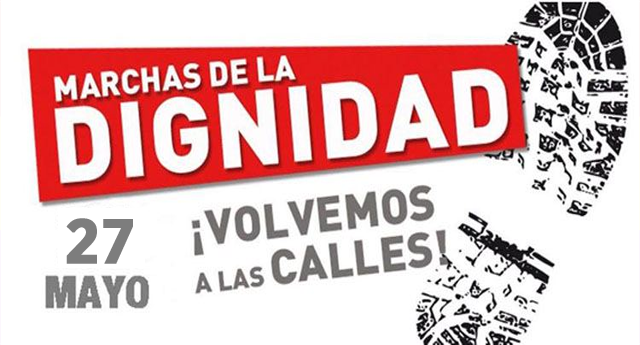 Las Marchas de la Dignidad preparan su vuelta a Madrid el 27 de Mayo